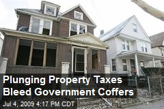 Plunging Property Taxes Bleed Government Coffers