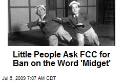 Little People Ask FCC for Ban on the Word 'Midget'