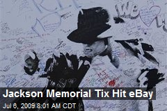 Jackson Memorial Tix Hit eBay