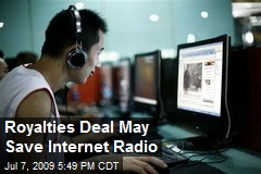 Royalties Deal May Save Internet Radio