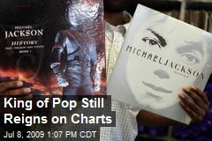 King of Pop Still Reigns on Charts