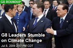 G8 Leaders Stumble on Climate Change