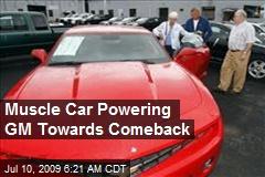 Muscle Car Powering GM Towards Comeback
