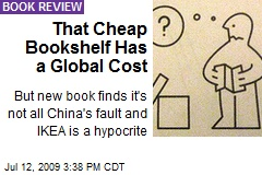 That Cheap Bookshelf Has a Global Cost