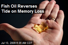 Fish Oil Reverses Tide on Memory Loss
