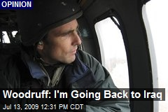 Woodruff: I'm Going Back to Iraq