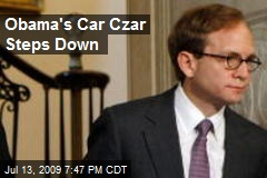 Obama's Car Czar Steps Down