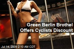 Green Berlin Brothel Offers Cyclists Discount