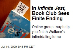 In Infinite Jest , Book Club Sees Finite Ending