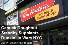 Canuck Doughnut Standby Supplants Dunkin' in Wary NYC