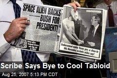 Scribe Says Bye to Cool Tabloid