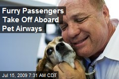 Furry Passengers Take Off Aboard Pet Airways