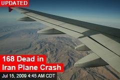 168 Dead in Iran Plane Crash