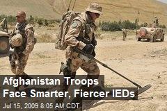 Afghanistan Troops Face Smarter, Fiercer IEDs