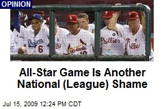 All-Star Game Is Another National (League) Shame