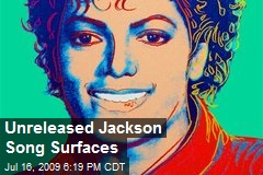 Unreleased Jackson Song Surfaces