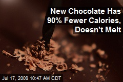 New Chocolate Has 90% Fewer Calories, Doesn't Melt