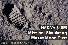 NASA's $19M Mission: Simulating Messy Moon Dust