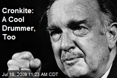 Cronkite: A Cool Drummer, Too