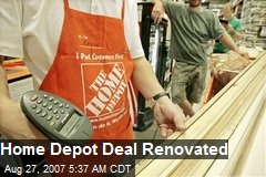 Home Depot Deal Renovated