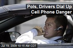 Pols, Drivers Dial Up Cell Phone Danger