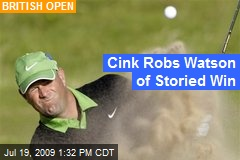 Cink Robs Watson of Storied Win