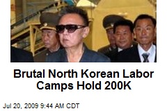 Brutal North Korean Labor Camps Hold 200K