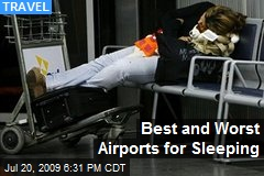 Best and Worst Airports for Sleeping