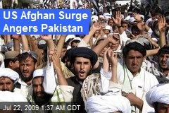 US Afghan Surge Angers Pakistan
