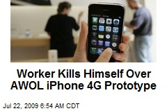 Worker Kills Himself Over AWOL iPhone 4G Prototype