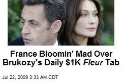 France Bloomin' Mad Over Brukozy's Daily $1K Fleur Tab