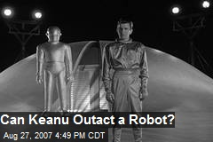 Can Keanu Outact a Robot?