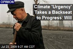 Climate 'Urgency' Takes a Backseat to Progress: Will