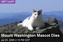 Mount Washington Mascot Dies