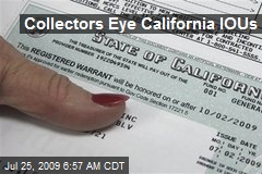Collectors Eye California IOUs