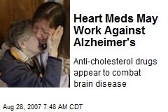 Heart Meds May Work Against Alzheimer's
