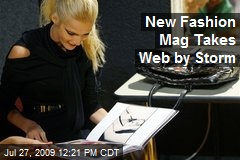New Fashion Mag Takes Web by Storm