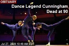 Dance Legend Cunningham Dead at 90