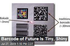 Barcode of Future Is Tiny, Shiny