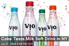 Coke Tests Milk Soft Drink in NY