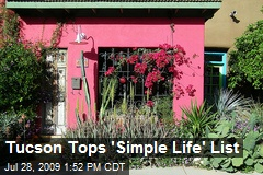 Tucson Tops 'Simple Life' List