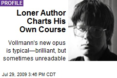 Loner Author Charts His Own Course