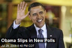 Obama Slips in New Polls