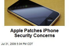 Apple Patches iPhone Security Concerns