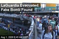 LaGuardia Evacuated; Fake Bomb Found