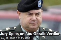 Jury Splits on Abu Ghraib Verdict