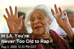 In LA, You're Never Too Old to Rap