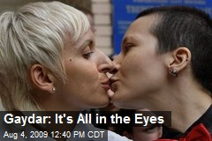 Gaydar: It's All in the Eyes