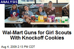 Wal-Mart Guns for Girl Scouts With Knockoff Cookies