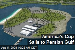 America's Cup Sails to Persian Gulf